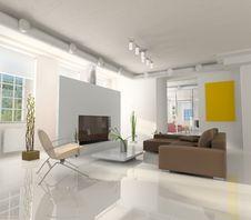 Free Room Interior Stock Image - 16705371