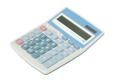 Free Sweet Blue Color Calculator Royalty Free Stock Photo - 16706055