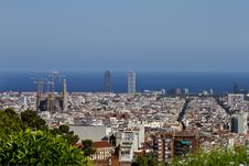 Free Barcelona View Royalty Free Stock Image - 16706786