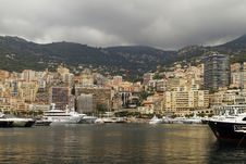 Free Monaco Harbor With Yatchs Royalty Free Stock Photos - 16707038