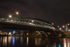 Free Night Modern Bridge Stock Photos - 16707283
