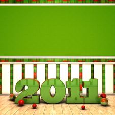 2011 Room Royalty Free Stock Images