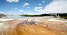 Free Landscapes Of Yellow Stone National Park Stock Photo - 16707620