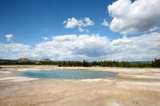 Free Landscapes Of Yellow Stone National Park Royalty Free Stock Photos - 16707668