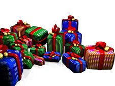 Free A Lot Of Gifts Royalty Free Stock Photos - 16707888