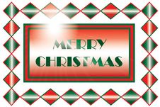 Merry Christmas Illustration Stock Photos