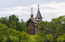 Free Archangel Michael Orthodox Chapel On Kizhi Island Stock Photo - 16708690