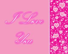 Free Pink Hearts Royalty Free Stock Image - 16708796