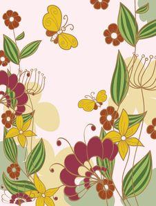 Free Flower Background Royalty Free Stock Image - 16709716
