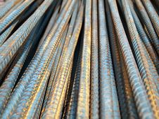 Free Deformed Bars Steel Shafts Royalty Free Stock Image - 16709946