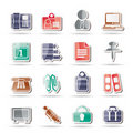Free Business And Office Icons Stock Photo - 16710070