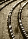 Free Tram Lines Shapes Stock Photo - 16712610