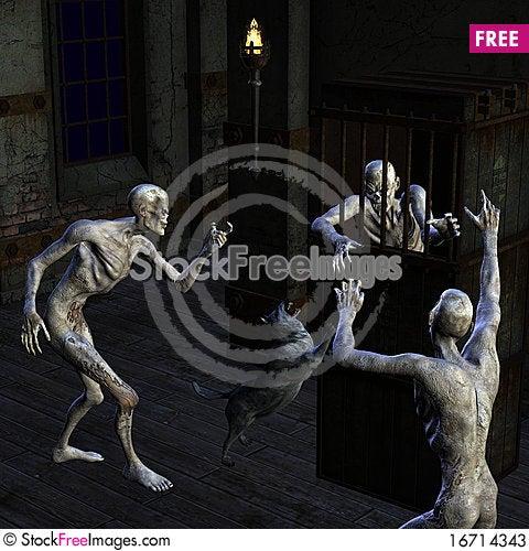 Free Caught Zombie Stock Photos - 16714343
