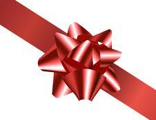 Free Diagonally Tied Bow Royalty Free Stock Image - 16710106