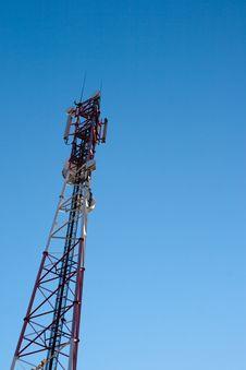 Free Comunication Antenna Stock Image - 16710521
