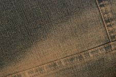 Free Dark Denim Texture Stock Images - 16710524