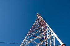 Free Comunication Antenna Royalty Free Stock Image - 16710566