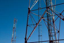 Free Comunication Antenna Royalty Free Stock Image - 16710586