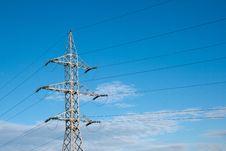 Free Electricity Pylon Royalty Free Stock Photography - 16710717