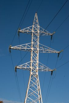 Free Electricity Pylon Royalty Free Stock Images - 16710819