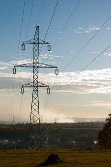 Free Electricity Pylon Stock Photography - 16710882