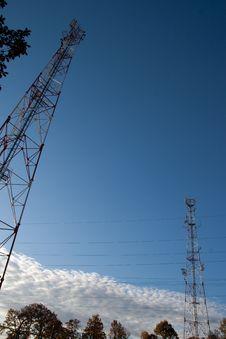 Free Comunication Antenna Stock Image - 16710901