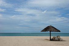 Free Sunbathing Seat Royalty Free Stock Image - 16712126