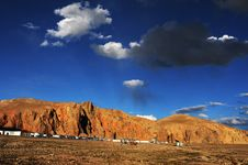 Free Landscape In Tibet Royalty Free Stock Photos - 16712678