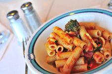 Free Tomato Pasta Royalty Free Stock Image - 16712776