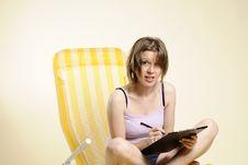 Free Business Woman Communicating Stock Photo - 16713020
