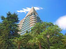 Free High Building In Yalta, Crimea, Ukraine Stock Photo - 16713910