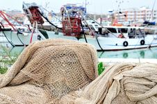 Free Fishing Nets Royalty Free Stock Image - 16713986