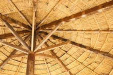 Free Wood Umbrella Royalty Free Stock Photo - 16714855
