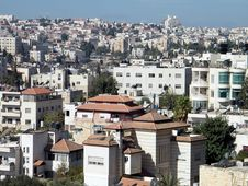 Jerusalem Houses On The Hillside 2010