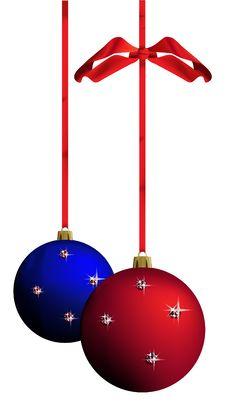 Free Christmas Balls - Vector Royalty Free Stock Image - 16715046