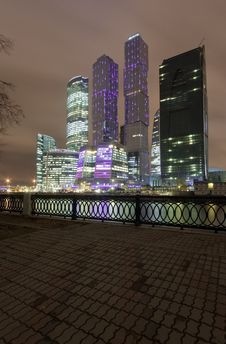 Free Moscow-City Office District Stock Images - 16718124