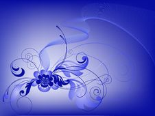 Free Blue Bouquet Royalty Free Stock Photo - 16718275