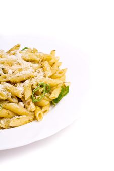 Free Penne Al Pesto Stock Images - 16718664