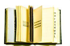 Free Open Book Stock Photos - 16720293