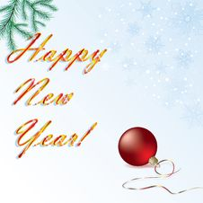 Free New Year Card Stock Images - 16720564