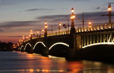 Free Saint-Petersburg. Bridge Royalty Free Stock Images - 16720959