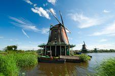 Free Windmill Landscape Royalty Free Stock Photos - 16721138