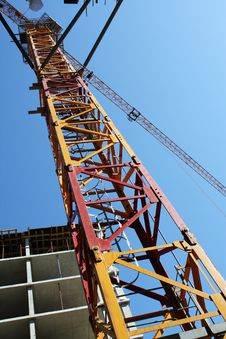 Free Tower Crane Stock Photo - 16722010