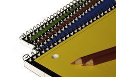 Stationery Supplies. Royalty Free Stock Photography