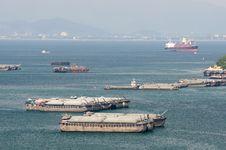 Free Ship Transfer Goods Stock Image - 16722301