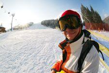 Free Snowboarder Stock Image - 16722961