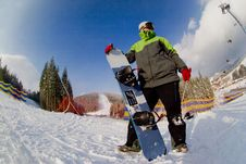 Free Snowboarder Royalty Free Stock Photos - 16723058