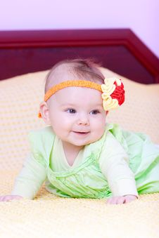 Free Sweet Baby Girl Royalty Free Stock Photography - 16723097