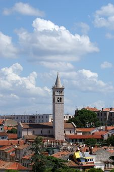 View Of The City, Pula, Croatia Royalty Free Stock Images