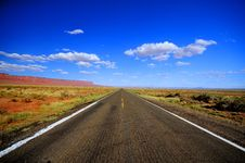 Free Lonesome Road Stock Photography - 16723232